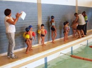 Festival de natación realizado en el centro deportivo UTAL